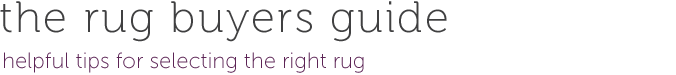 the rug buyers guide