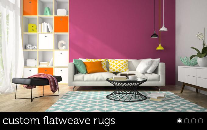 custom flatweave rugs