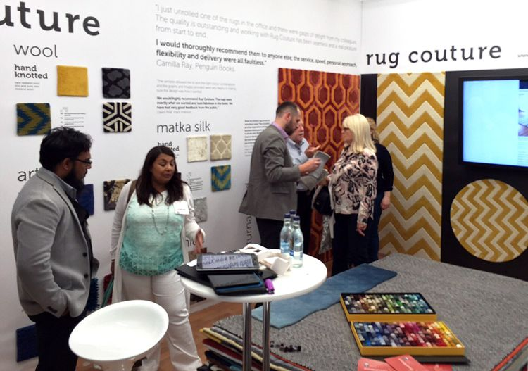 Rug Couture at DECOREX 2015