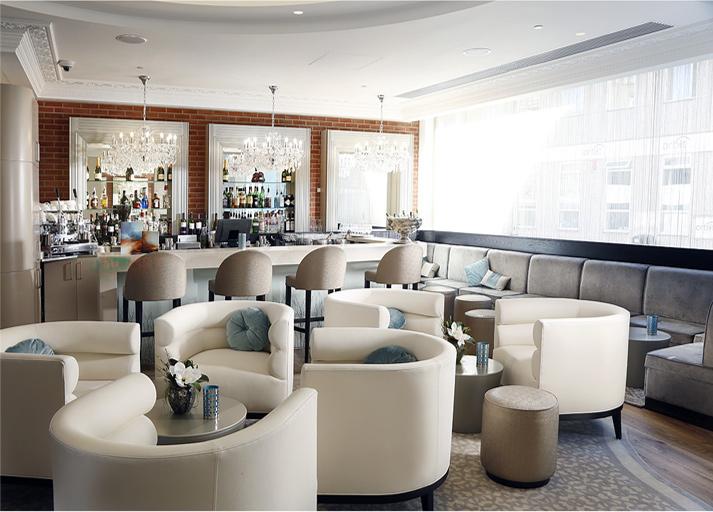 rug in bar
