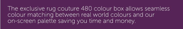 seamless colour matching between real world colours and our on-screen palette