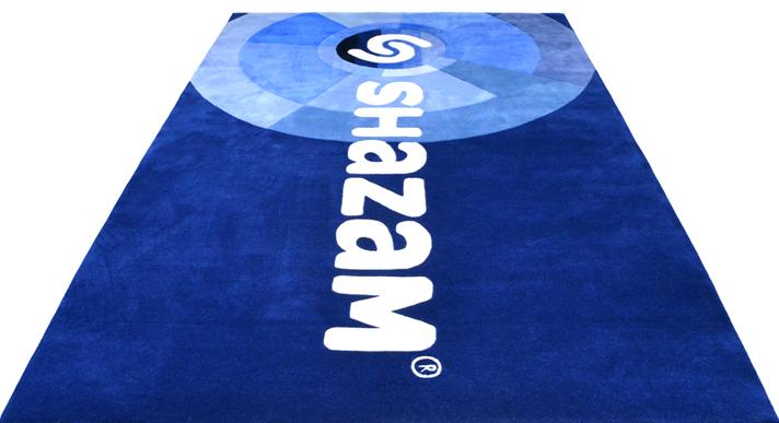 shazam rug overhead