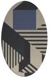 rug #1182009 | oval rug
