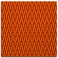 rug #1011797 | square red rug