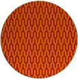 rug #1012889 | round orange rug