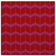 rug #1013625 | square red rug