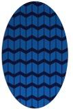 rug #1013761   oval blue rug