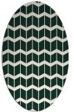 rug #1013867 | oval gradient rug