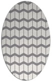 rug #1013914 | oval gradient rug