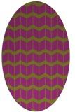 rug #1013967 | oval natural rug