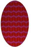 rug #1013989 | oval gradient rug