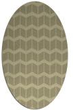 rug #1014068 | oval gradient rug
