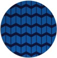 rug #1014489 | round blue rug