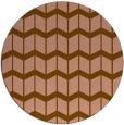 rug #1014603 | round gradient rug
