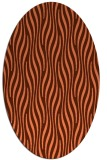 rug #1015762   oval stripes rug