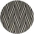 rug #1016301 | round black rug