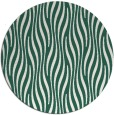 rug #1016413 | round green rug