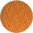rug #1016545 | round red-orange rug