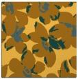 rug #101849   square yellow rug