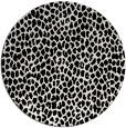 rug #1019733   round black rug