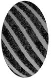 rug #1022912   oval stripes rug