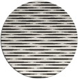 rug #1025778 | round black rug