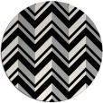 rug #1026478 | round black rug