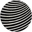rug #1026878 | round black rug