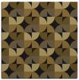 rug #103421   square mid-brown rug