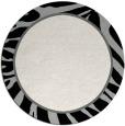 rug #1039758 | round black rug