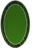 rug #1041002 | oval green rug