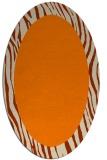 rug #1042559 | oval borders rug