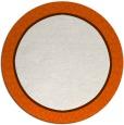 rug #1045414 | round red-orange rug
