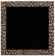 rug #1045882 | square beige rug