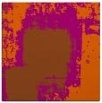 rug #1051926 | square red-orange rug
