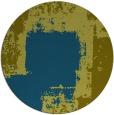 rug #1052834 | round green rug