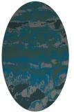 rug #1055833 | oval abstract rug