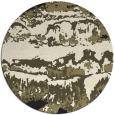 rug #1056458 | round black rug