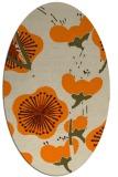 rug #105733 | oval flags rug