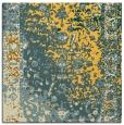 rug #1061178   square yellow rug