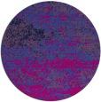 rug #1065670 | round blue rug