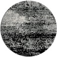 rug #1065778 | round black abstract rug