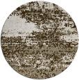 rug #1065946 | round beige rug