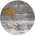 rug #1065998 | round light-orange rug