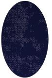 rug #1068666 | oval blue-violet rug