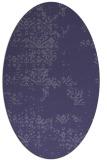 rug #1068673   oval damask rug