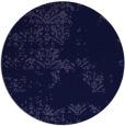 rug #1069402 | round blue-violet rug