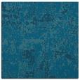 rug #1070102 | square blue-green rug