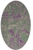 rug #1070605 | oval graphic rug