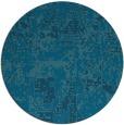 rug #1071206   round blue-green rug